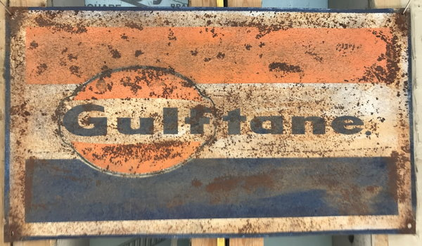 Replica old gas station sign  for Sale $45