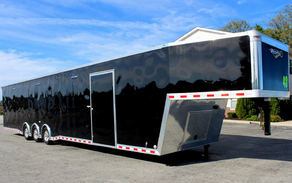 2019 48' Extreme Gooseneck Race Car Trailer LOADED