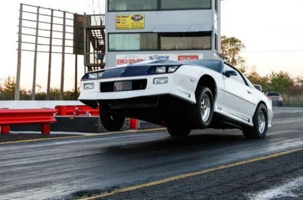 1982 street/strip camaro nitrous car