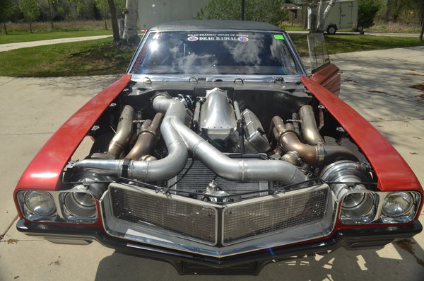 1970 Buick GS LDR Twin Turbo BBC   for Sale $99,000