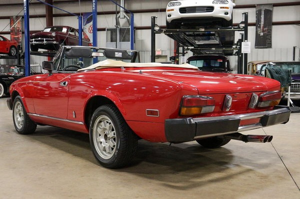 1981 Fiat Spider 2000  for Sale $10,900
