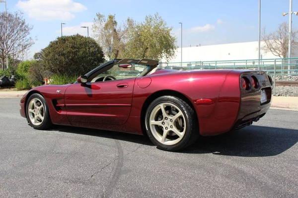 2003 Chevrolet Corvette Base 2dr Convertible  for Sale $22,900