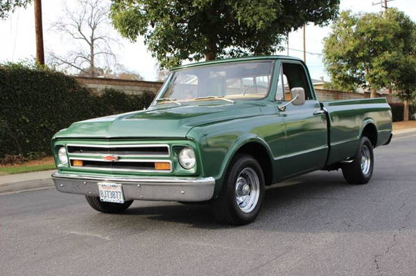 1967 Chevrolet C/K 10 Series  for Sale $13,900