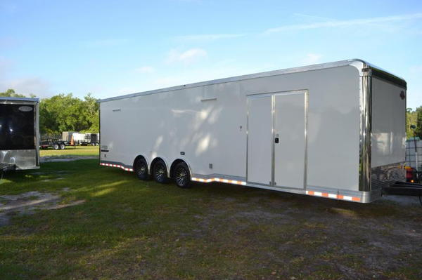 34' Cargo Mate Race Trailer - Eliminator Model - LOADED OUT