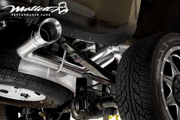 Mallett Supercharged Full Exhaust ZR2  for Sale $52,000