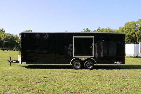 8.5x24 Race Trailer w/ Escape Door -Quality