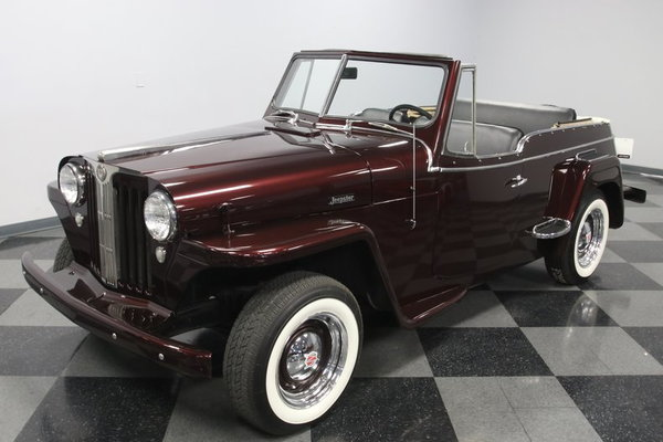 1948 Willys Jeepster Overland  for Sale $24,995