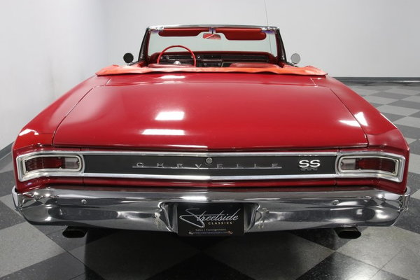 1966 Chevrolet Chevelle SS Convertible  for Sale $41,995