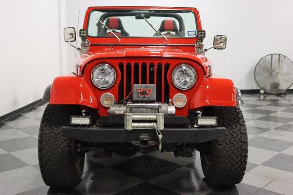 1982 Jeep CJ7  for Sale $39,995