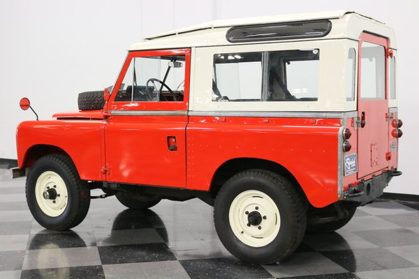 1965 Land Rover Series IIA  for Sale $39,995