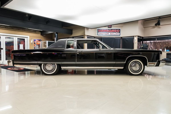 1977 Lincoln Continental Town Coupe  for Sale $42,900