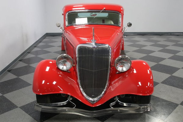 1934 Ford 3-Window Coupe  for Sale $49,995
