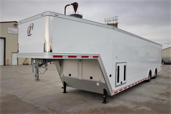 2021 40' GN inTech All Aluminum Trailer with ICON Package &
