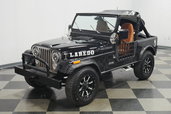 1985 Jeep CJ7 Laredo  for Sale $19,995