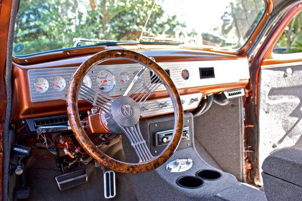 1947 Chevrolet Fleetline Aero Sedan Resto-Mod
