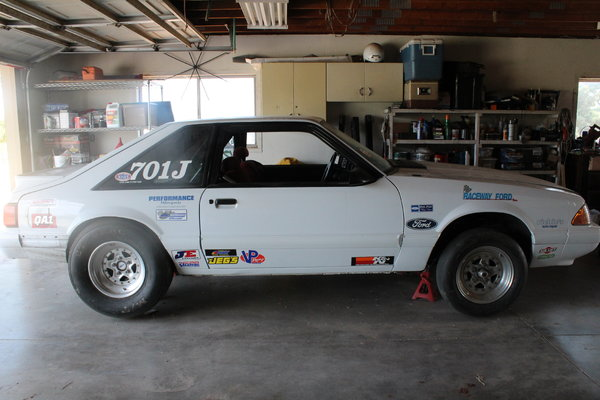 1988 SUPER STOCK MUSTANG LX  for Sale $12,000