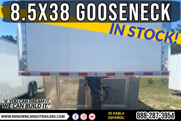 8.5X38 GOOSENECK - IN STOCK NOW!  for Sale $23,795