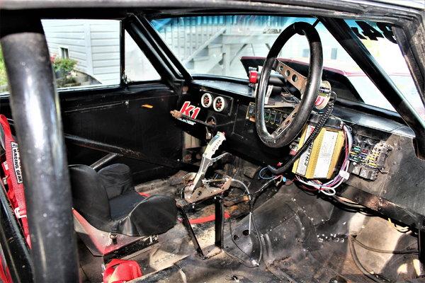 1966 Chevrolet Nova Drag Car