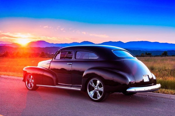 1948 Chevy Chopped Top Street Rod
