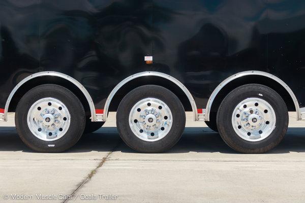 2020 Vintage 3-Car Wedge Transport Trailer  for Sale $55,900