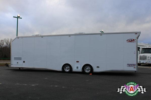 2017 Fusion 34' Race Trailer