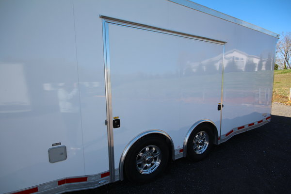 2017 ATC Quest CH305 28ft. Aluminum w/6,000lb. Axles Enclose