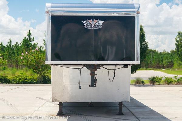 2020 Vintage 3-Car Wedge Enclosed Car Trailer  for Sale $55,900
