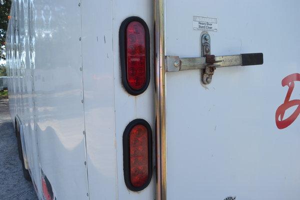USED: 8.5x28 CargoMate   Race Car Trailer