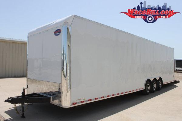 34' United Loaded Two-Car Race Trailer Wacobill.com