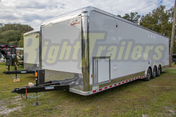 2021 8.5'x34' Cargo Mate Race Trailer