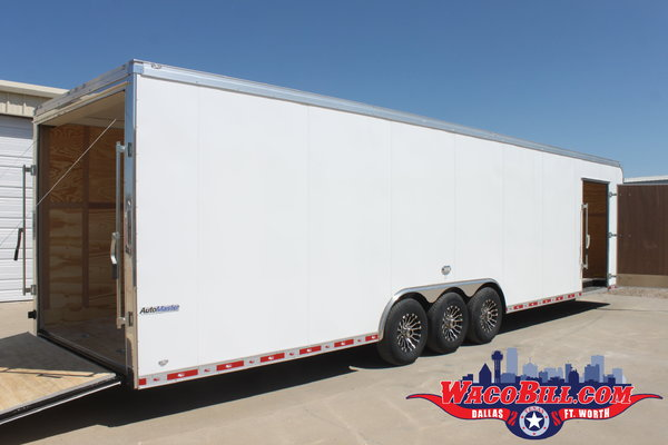 34' Auto Master +12in. X-Height Race Trailer Wacobill.com