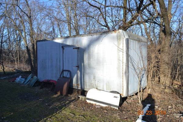 Free delivery W/I 30 mi;Box Trailer & 1971-1973 mustang   for Sale $1,600