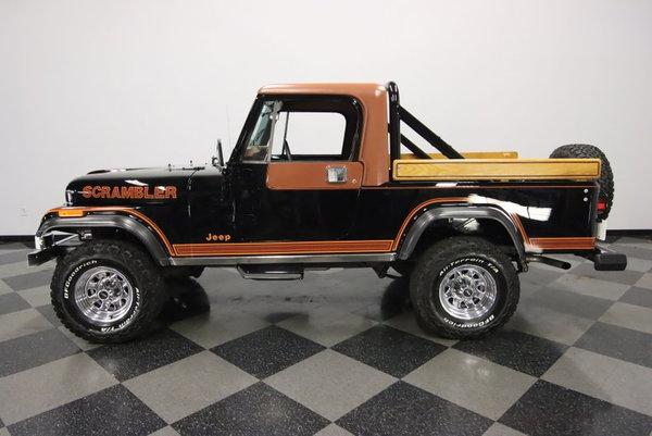 1982 Jeep CJ8 Scrambler  for Sale $55,995
