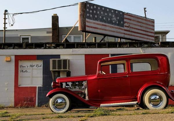 """""""ELDORODDER"""" 1932 FORD SEDAN  for Sale $52,000"""