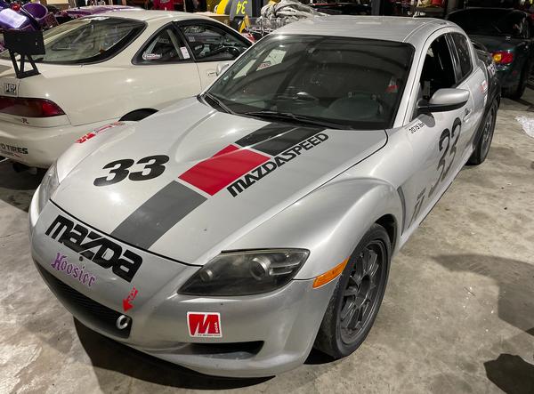 SCCA T4 Mazda RX8  for Sale $20,000