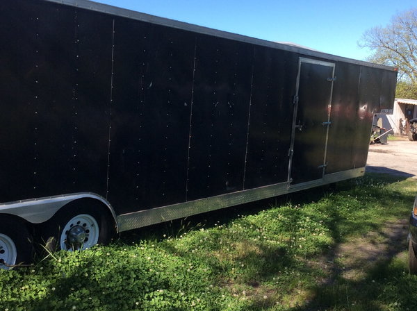 2 car enclosed trailer   for Sale $12,000