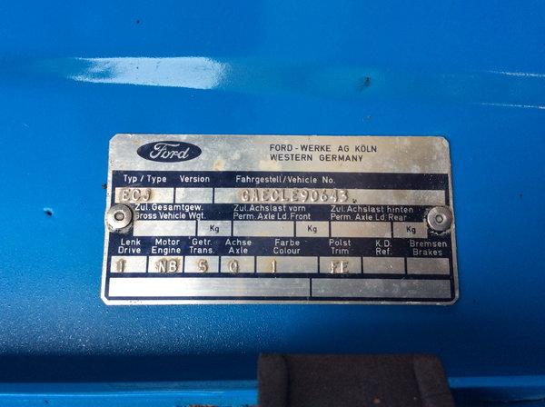 1971 Ford Capri Trans Am B Sedan   for Sale $39,900