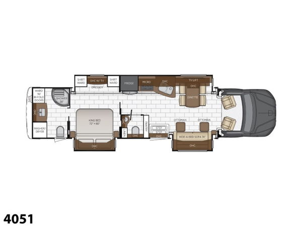 2021 Newmar Supreme Aire 4051