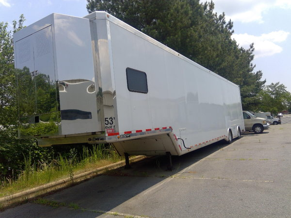 2001 Ultra Comp Liftgate racing trailer  for Sale $114,000