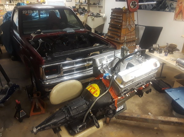 1982 S10 Drag Truck reg cab short bed  for Sale $10,000
