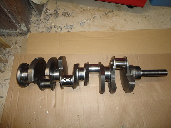 Eagle 4.500 BBF crank and rods
