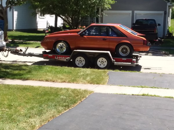 85 mustang roller  for Sale $7,500