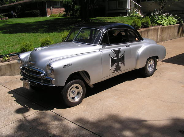 GASSER Chevy 1950 Coupe  for Sale $18,750