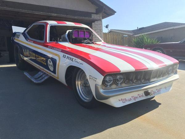 1972 Cuda Funny Car  for Sale $33,000