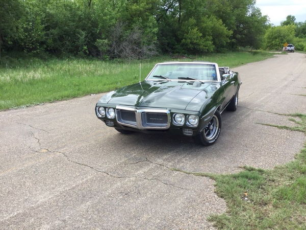 1969 PONTIAC FIREBIRD  for Sale $27,000