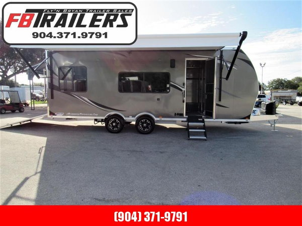 2020 ATC 24ft All Aluminum Toy Hauler Toy Hauler RV  for Sale $0