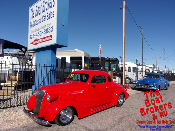 1937  chevy   Deluxe  for Sale $44,995