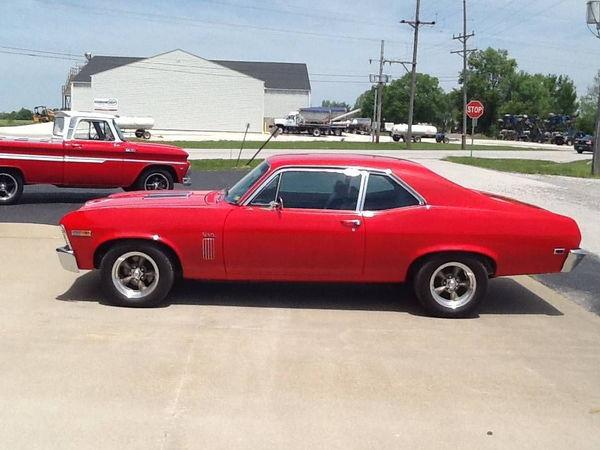 1969 Chevrolet Nova For Sale In West Pittston Pa Price 44 949