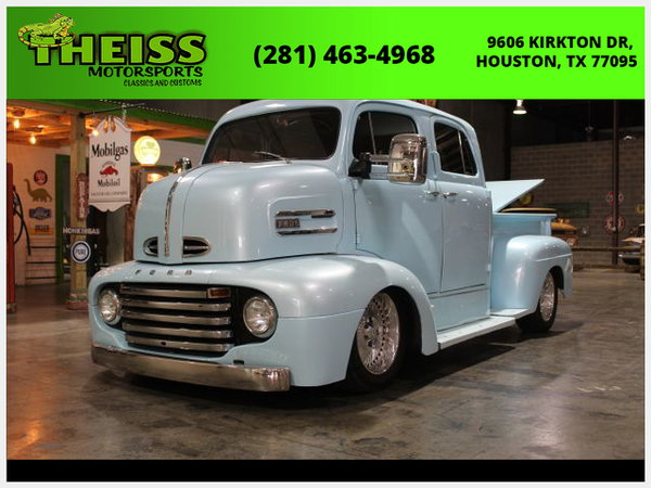 Used 1948 Ford COE for sale for sale in Houston, TX, Price: $84,999