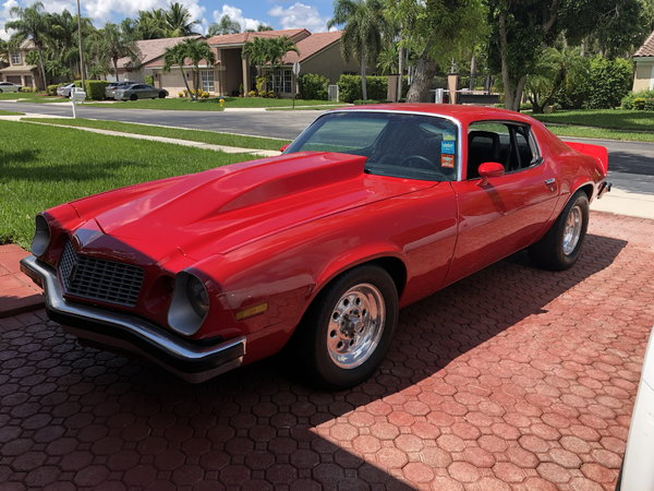 Clean 1974 Camaro   for Sale $12,000